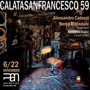 Dal 6 al 22 Novembre al Pan la mostra fotografica su Riccardo Dalisi di Alessandro Catocci e Sonia Ritondale: CALATASANFRANCESCO 59