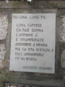 Luna Caprese - Augusto Cesareo