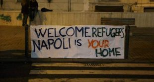 """Welcome refugees!"""