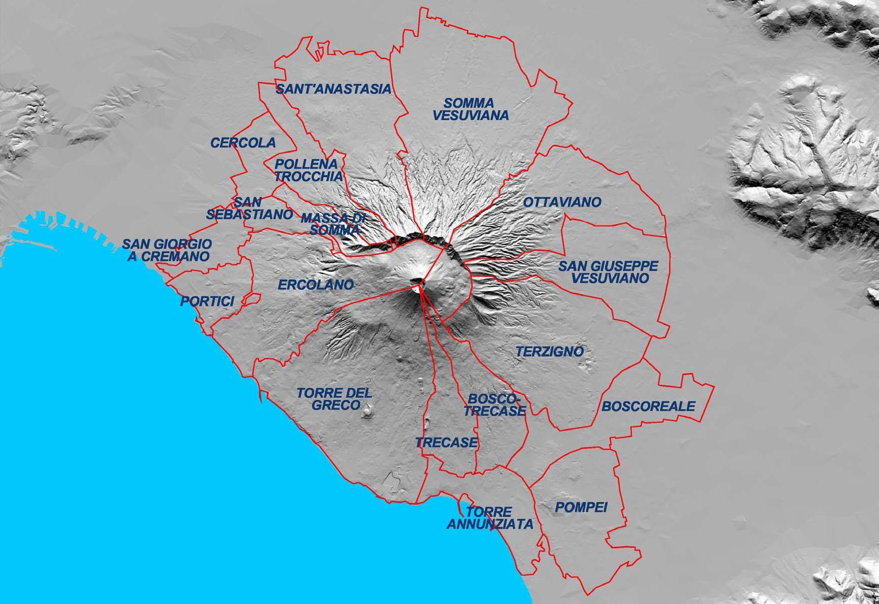 Piano Vesuvio, 700 mila persone da sfollare