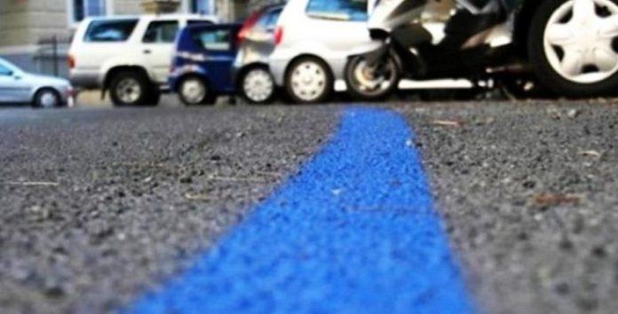 Ercolano, strisce blu