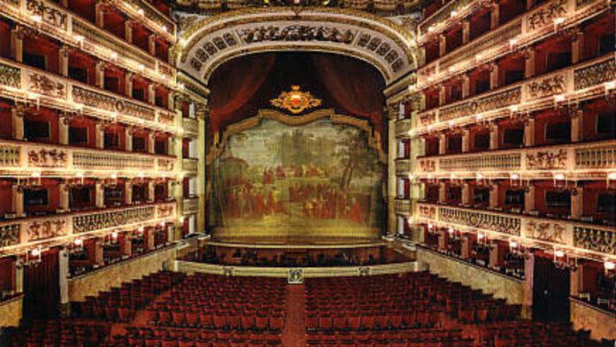 Teatro San Carlo registro regionale dello spettacolo