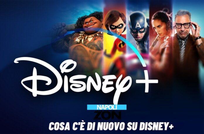Novità su Disney Plus