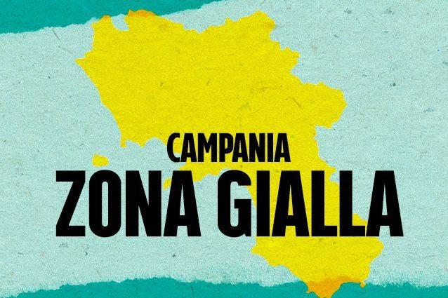 zona gialla Campania