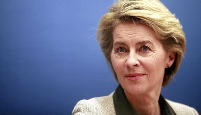 Ursula Von Der Leyen Erdoğan
