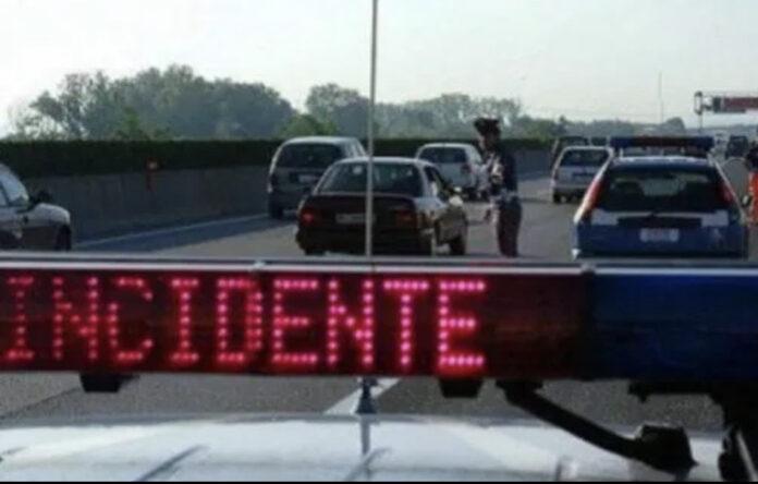 incidente in autostrada