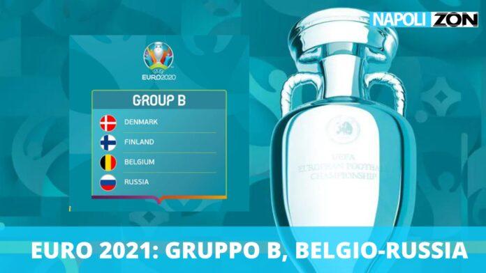 Belgio-Russia Euro 2020