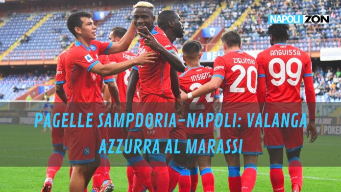 PAGELLE SAMPDORIA-NAPOLI