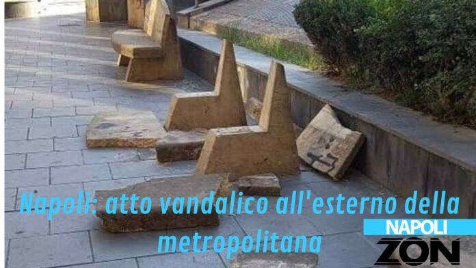 Atto vandalico a Napoli